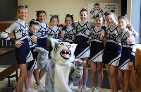 GES CHEER SQUAD IN ACTION!!!!